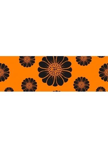 Artikel Renkli Çiçekler -2 Runner Masa Örtüsü 43,5x141,5cm Renkli